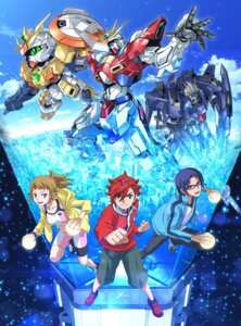 Rating: Safe Score: 14 Tags: arisawa_hiroshi bike_shorts digital_version gundam gundam_build_fighters gundam_build_fighters_try hoshino_fumina kamiki_sekai kousaka_yuuma mecha megane oonuki_kenichi sweater User: blooregardo