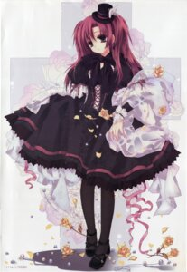 Rating: Safe Score: 35 Tags: asuna dress fishnets lolita_fashion scanning_artifacts scanning_dust screening User: peoplo