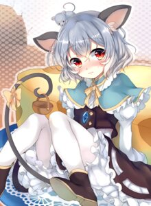 Rating: Safe Score: 53 Tags: animal_ears dress harakasu nazrin pantyhose tail touhou User: Mr_GT
