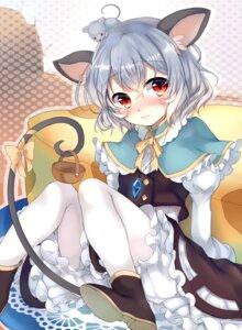 Rating: Safe Score: 54 Tags: animal_ears dress harakasu nazrin pantyhose tail touhou User: Mr_GT