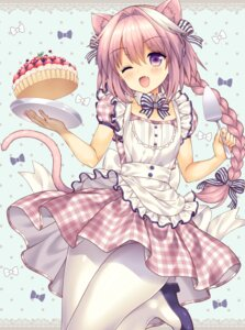 Rating: Safe Score: 70 Tags: animal_ears fate/apocrypha fate/grand_order fate/stay_night heels lyric nekomimi pantyhose rider_of_black_(fate/apocrypha) tail waitress User: Mr_GT