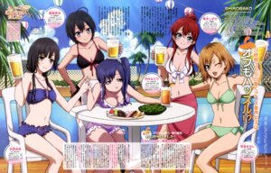Rating: Questionable Score: 74 Tags: bikini cleavage imai_midori miyamori_aoi sakaki_shizuka satou_youko shirobako swimsuits toudou_misa yasuhara_ema User: drop