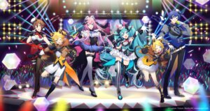 Rating: Safe Score: 15 Tags: animal_ears cleavage garter hatsune_miku horns kagamine_len kagamine_rin magical_mirai megurine_luka nekomimi pantyhose sogawa tail thighhighs vocaloid User: Mr_GT
