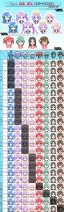Rating: Safe Score: 7 Tags: expression hiiragi_kagami iwasaki_minami izumi_konata kobayakawa_yutaka kusakabe_misao lucky_star megane tamura_hiyori User: charunetra