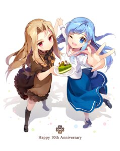 Rating: Safe Score: 52 Tags: fleta gilse lorna mabinogi User: blooregardo