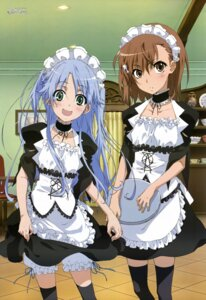 Rating: Safe Score: 73 Tags: bloomers cosplay index itou_youko maid misaka_mikoto thighhighs to_aru_majutsu_no_index User: Radioactive