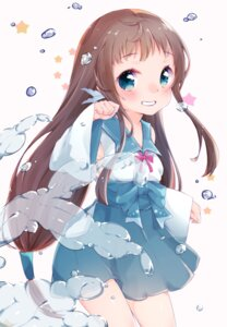 Rating: Questionable Score: 38 Tags: azuki_(krps-hano) mukaido_manaka nagi_no_asukara seifuku User: nphuongsun93