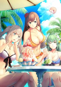Rating: Questionable Score: 42 Tags: bikini cleavage erect_nipples fate/grand_order horns kiyohime_(fate/grand_order) marie_antoinette_(fate/grand_order) mata_hari_(fate/grand_order) swimsuits yumemizuki User: Mr_GT
