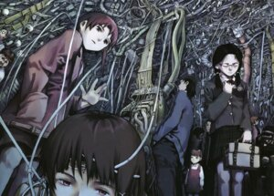 Rating: Safe Score: 6 Tags: abe_yoshitoshi iwakura_lain megane seifuku serial_experiments_lain User: Radioactive