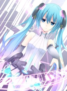Rating: Questionable Score: 32 Tags: bodysuit hatsune_miku makadamixa miku_append vocaloid User: charunetra