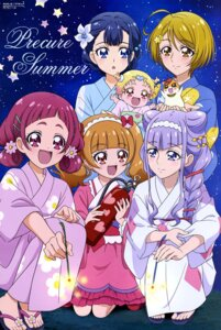 Rating: Questionable Score: 7 Tags: aisaki_emiru hug-tan hugtto!_precure kagayaki_homare nono_hana ruru_amour toei_animation yakushiji_saaya yukata User: drop