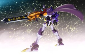 Rating: Safe Score: 19 Tags: digimon mecha monster omnimon sasasi User: krazy-kun