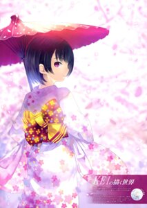 Rating: Safe Score: 18 Tags: kei kimono umbrella User: drop
