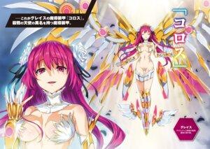 Rating: Questionable Score: 45 Tags: bikini_armor cleavage hisasi maebari masou_gakuen_hxh wings User: kiyoe