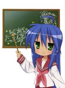 Rating: Safe Score: 8 Tags: horiguchi_yukiko izumi_konata lucky_star seifuku User: Elow69