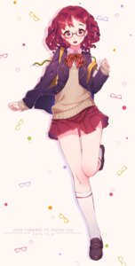 Rating: Safe Score: 16 Tags: hoko_sakuran megane seifuku sweater User: Mr_GT