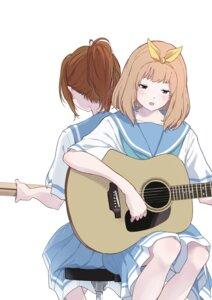 Rating: Safe Score: 11 Tags: guitar hasisisissy hibike!_euphonium nakagawa_natsuki seifuku yoshikawa_yuuko User: Dreista