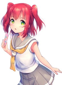 Rating: Safe Score: 23 Tags: b.ren kurosawa_ruby love_live!_sunshine!! seifuku User: Spidey