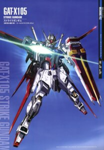 Rating: Safe Score: 17 Tags: aile_strike_gundam gun gundam gundam_seed mecha shigeta_satoshi User: Radioactive
