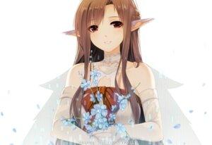 Rating: Safe Score: 55 Tags: asuna_(sword_art_online) caidychen dress elf pointy_ears sword_art_online User: fairyren