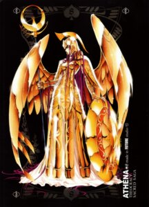 Rating: Safe Score: 8 Tags: armor dress future_studio kido_saori saint_seiya weapon wings User: Radioactive