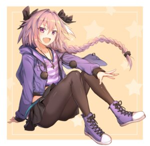 Rating: Safe Score: 39 Tags: astolfo_(fate) fate/apocrypha fate/grand_order fate/stay_night ikomochi pantyhose trap User: Nepcoheart
