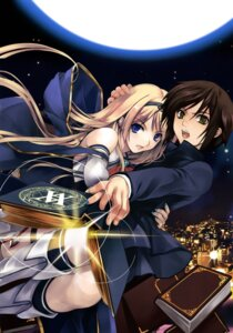 Rating: Safe Score: 33 Tags: boku_to_kanojo_ni_furu_yoru misaki_kurehito User: fireattack