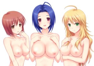 Rating: Questionable Score: 71 Tags: hagiwara_yukiho hoshii_miki miura_azusa n.g. naked nipples the_idolm@ster the_idolm@ster_cinderella_girls User: Masutaniyan