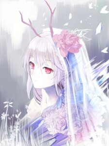 Rating: Safe Score: 20 Tags: horns pointy_ears red_flowers User: charunetra