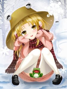 Rating: Questionable Score: 23 Tags: bug moriya_suwako thighhighs touhou User: 椎名深夏