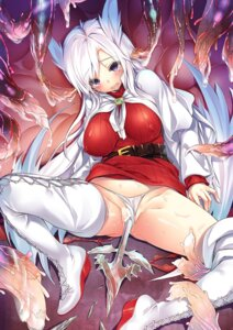 Rating: Explicit Score: 70 Tags: animal_ears aty censored erect_nipples hinasaki pantsu pussy pussy_juice summon_night tentacles thighhighs weapon User: fairyren