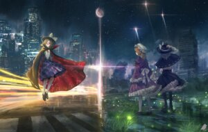 Rating: Safe Score: 26 Tags: dress landscape maribel_han megane touhou usami_renko usami_sumireko you_(shimizu) User: RyuZU