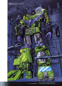 Rating: Safe Score: 9 Tags: devastor mecha saitou_akihide transformers User: Radioactive
