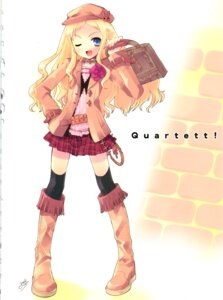 Rating: Safe Score: 11 Tags: charlotte_francia cropme ito_noizi quartett! thighhighs User: admin2