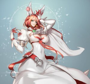 Rating: Safe Score: 46 Tags: cleavage dress elphelt_valentine guilty_gear guilty_gear_xrd monaim User: Mr_GT