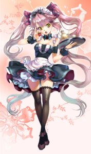 Rating: Safe Score: 47 Tags: chushengdao kaku-san-sei_million_arthur thighhighs waitress User: lichtzhang