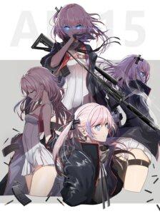 Rating: Questionable Score: 48 Tags: ass dress garter girls_frontline gun pantsu seifuku st_ar-15_(girls_frontline) swav weapon User: Spidey