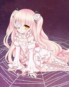 Rating: Safe Score: 16 Tags: dress eyepatch kirakishou lolita_fashion rozen_maiden thighhighs tsukikage_nemu User: Nico-NicoO.M.