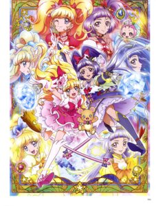 Rating: Safe Score: 6 Tags: asahina_mirai haa-chan_(precure) heels izayoi_riko mahou_girls_precure! mofurun_(precure) pretty_cure skirt_lift tagme User: drop