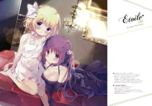 Rating: Safe Score: 55 Tags: breast_hold cleavage dress gochuumon_wa_usagi_desu_ka? kirima_sharo shiratama shiratamaco tedeza_rize User: Hatsukoi