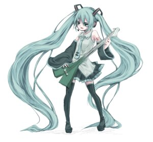 Rating: Safe Score: 12 Tags: hatsune_miku noa65 thighhighs vocaloid User: yumichi-sama