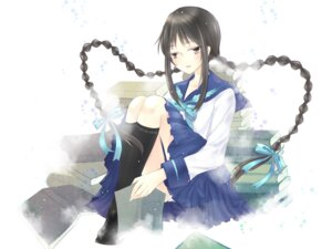 Rating: Safe Score: 8 Tags: amano_tooko bungaku_shoujo meng seifuku User: charunetra