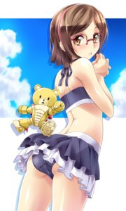 Rating: Questionable Score: 72 Tags: bikini chou_yoriyuki gundam gundam_build_fighters kousaka_china megane swimsuits User: blooregardo