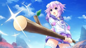 Rating: Questionable Score: 20 Tags: choujigen_game_neptune game_cg neptune pantsu shimapan thighhighs tsunako weapon yuusha_neptune_sekai_yo_uchuu_yo_katsumoku_seyo!!_ultimate_rpg_sengen!! User: Nepcoheart