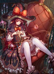 Rating: Safe Score: 38 Tags: dress kiyomasa_ren pointy_ears thighhighs witch User: Mr_GT