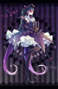 Rating: Safe Score: 18 Tags: 1055 dress hatsune_miku heels pantyhose vocaloid wings User: charunetra