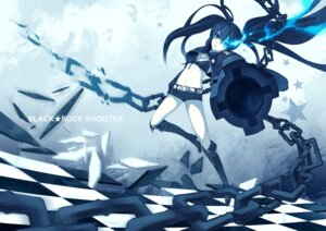 Rating: Safe Score: 12 Tags: bikini_top black_rock_shooter black_rock_shooter_(character) gun shiranagi_masa vocaloid User: cattypkung