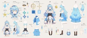 Rating: Questionable Score: 36 Tags: character_design heels hololive pointy_ears rin_yuu see_through thighhighs yukihana_lamy User: zyll