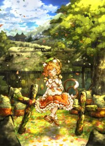 Rating: Safe Score: 12 Tags: animal_ears chen ikeda_p-rou tail touhou User: Mr_GT
