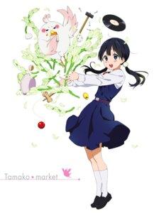 Rating: Safe Score: 23 Tags: dera_mochimazzi kitashirakawa_tamako seifuku tagme tamako_market User: saemonnokami